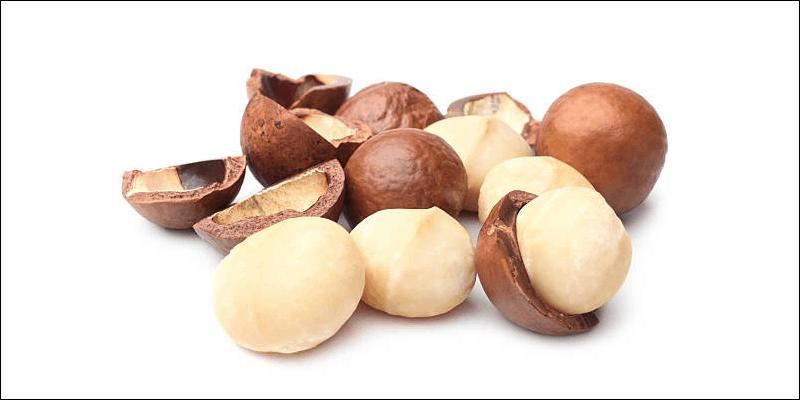 Healthy gamer snacks: macadamia nuts