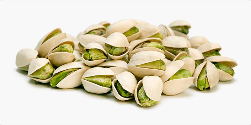 Healthy gamer snacks: pistachios